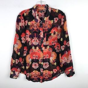 Madewell Broadway & Broome Flower Boy Shirt #825